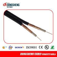 Rg59 avec Power Cable 2 Core 18AWG