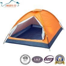Single Manually Plain Silver Tents