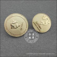 Silberne Runde Anstecknadel, organisatorische Abzeichen (GZHY-LP-018)