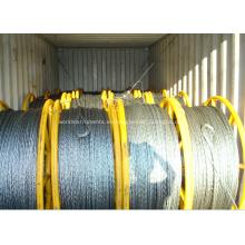 Cuerda de alambre no rotacional