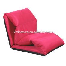 Canapé-lit réglable unique de Lie de Lepiess \ loisirs moderne tissu intérieur confortable de tissu de chaise de modèle