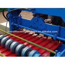 Máquina de formação de rolo de porta de obturador de metal 760 automática