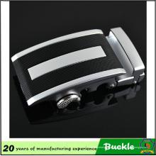 Fivela de cinto da liga do metal da alta qualidade, figura preta fivela de cinto da forma do áudio