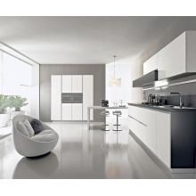 Pole Ikea Style White MDF Lacquer Kitchen Cabinet