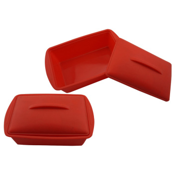 Bac à légumes camping rectangle Silicone lunchbox