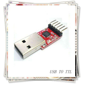 Adaptateur de convertisseur cp2102 USB de haute qualité USB à TTL à 6 broches