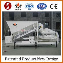 MC1800 liebherr usine de béton Exportation vers la Russie mobile mini usine de mélange de béton mobile