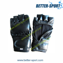 Grappling Gloves, MMA Glove in PU Material