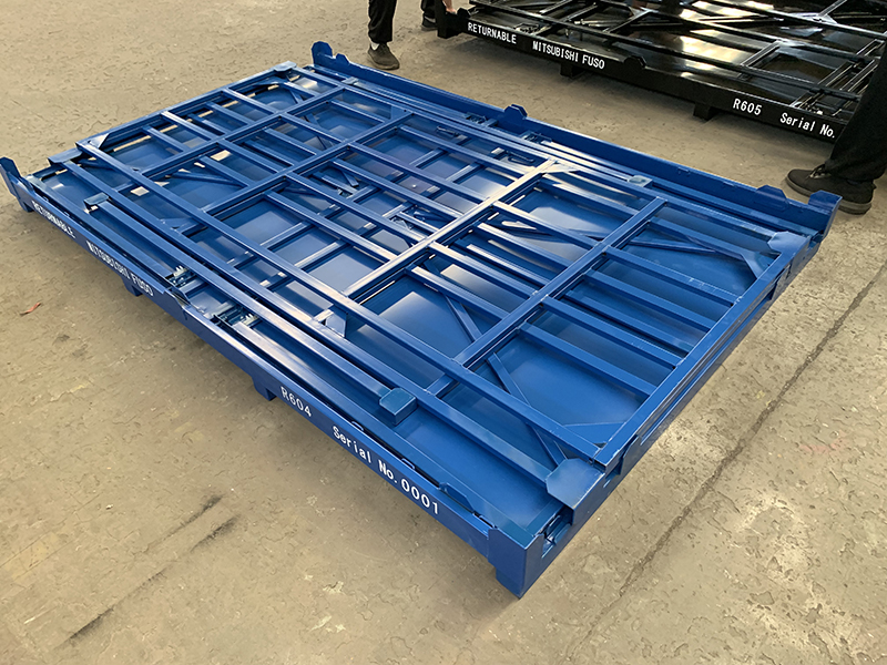 Fold Flat Storage Crate