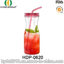 32oz Popular Plastic BPA Free Juice Bottle, Fresh Juice Water Bottle (HDP-0620)