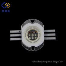 A microplaqueta de alta qualidade 10w rgb de Epileds conduziu para a iluminação da paisagem