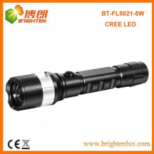Factory Supply 3.7v 1 * 18650 batterie au lithium Powered Multi-fonction Beam réglable Focus Cree XPG 5W led Rechargeable Torch