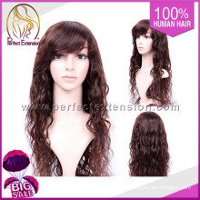 100% African Texture Remy Light Brown Short Red Rihanna Lace Wig
