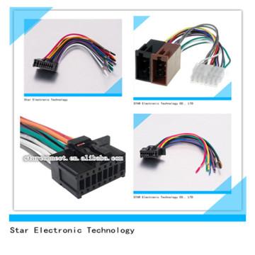 OEM / ODM 18 Pin Automotive ISO Pioneer Audio Radio Stereo Kabelbaum für Auto