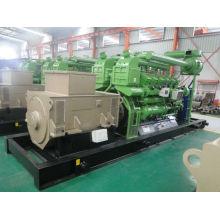 Conjunto de gerador de biogás refrigerado a água com motor Cummins