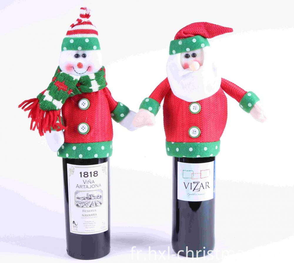 Christmas Clothes For Wine Bottle