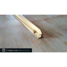 Eloxiertes Gold-Aluminium-TV-Rahmen