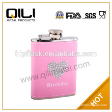 12 oz top quality stainless steel camping outdoor flask
