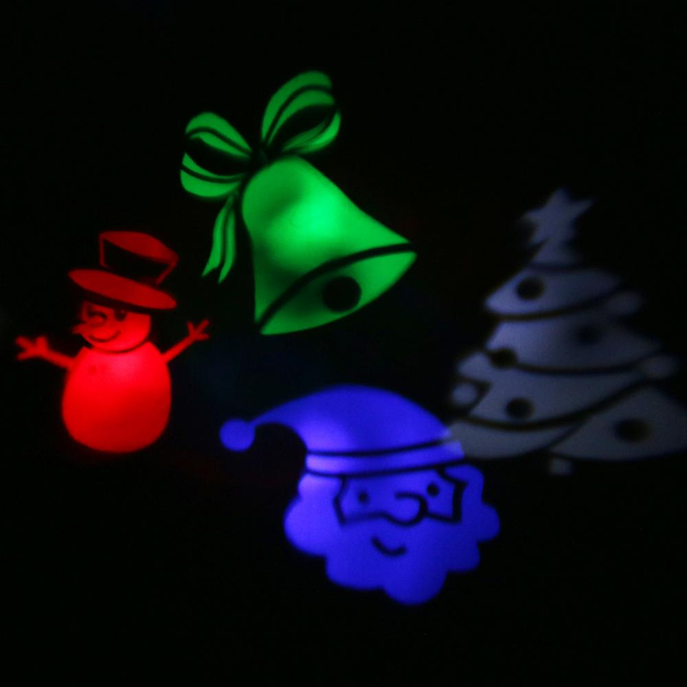 LED Landscape Projector Lamp Christmas Moving Spotlight