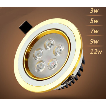 3W / 5W / 7W / 9W / 12W LED Downlight pour magasin et magasin d'éclairage