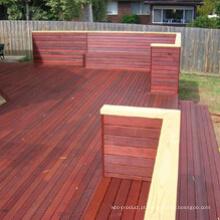 Deck de piso de madeira antiderrapante Merbau Hardwood Yard