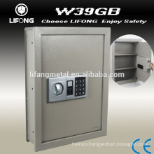 High security hidden wall mounted safe deposit furniture
