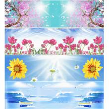 3D bedding printing 100% polyester fabric wholesale