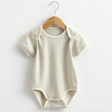 Sommer Striped Kurzarm Baby Spielanzug