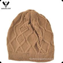 Acrylic Crochet Pattern Winter Kids Cap