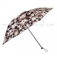 Bester Blumenfrauenregenschirm