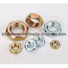 Tuerca de acero hexagonal DIN439