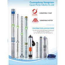 4» Погружные скважинные глубинно водяной насос (100qj6)