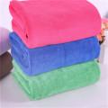 Diseño personalizado sexo niña toalla de baño de embalaje