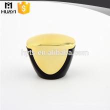 Couvercle de bouteille de parfum ABS noir et or