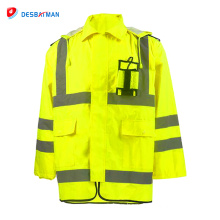 2018 Hot sale new fashion style lime green reflective safety vest manufacturer in china wholesale