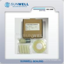 Kits de joints d'isolation de bride de brides d'ASME (SUNWELL)