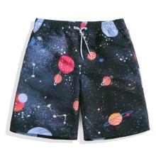 Hommes en gros shorts imprimés nagent l'été shorts de plage