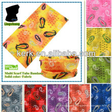 2014 promotional design Seamless Multifunction Headwear Magic Scarf bandana print !LSB75