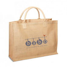 Popular recycled durable Tote Jute Shopper