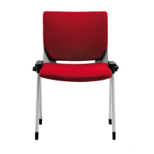 Mould foam red fabric meeting chairs for hall