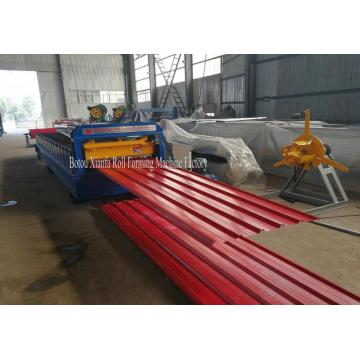 Alu Zinc Roofing Tile Forming Machine