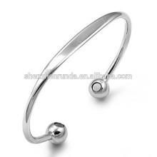 Pulseira de ouro de energia pulseira de aço inoxidável para mulheres