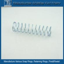 Molas de fio de compressão zincadas