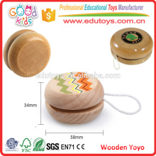 Classic Toys Wooden Promotional Yoyo with string