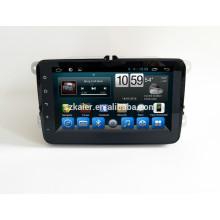 Voiture dvd pour écran tactile complet avec système android pour VW universal + dual core +8 pouces + usine Directement