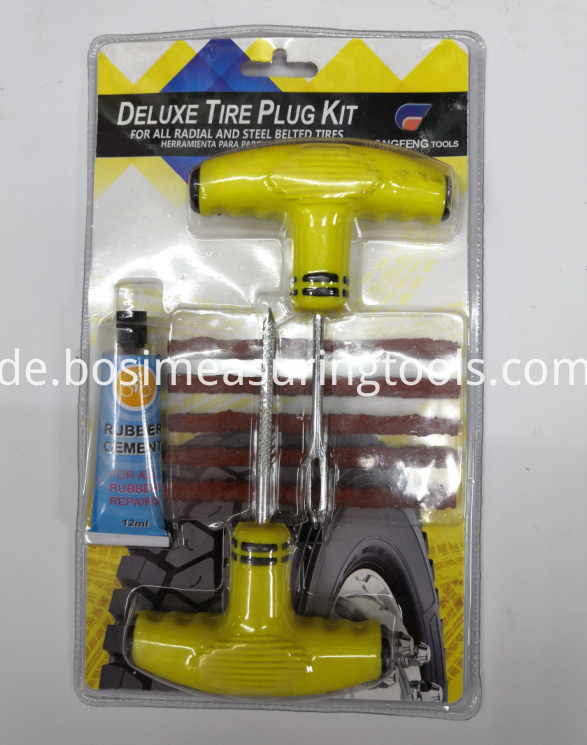 Car Tire Repair Tool Kit