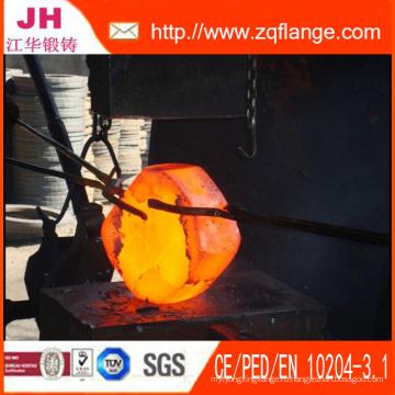 Фланцы и материал кованой стали A105 / Q235 / Ss400 / Ss41 / St37.2 / 304L / 316L