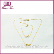 Alibaba hot sale lucky chain necklace