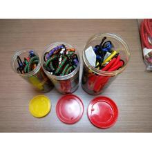 Fácil de usar 25 piezas de embalaje Bungee Elástico Cord Jar