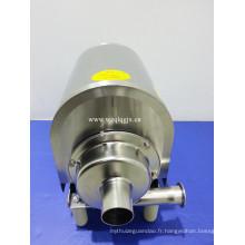 Pompe centrifuge à turbine étroite en acier inoxydable pour lait